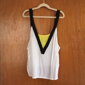 H&M Color block Camisole NWOT